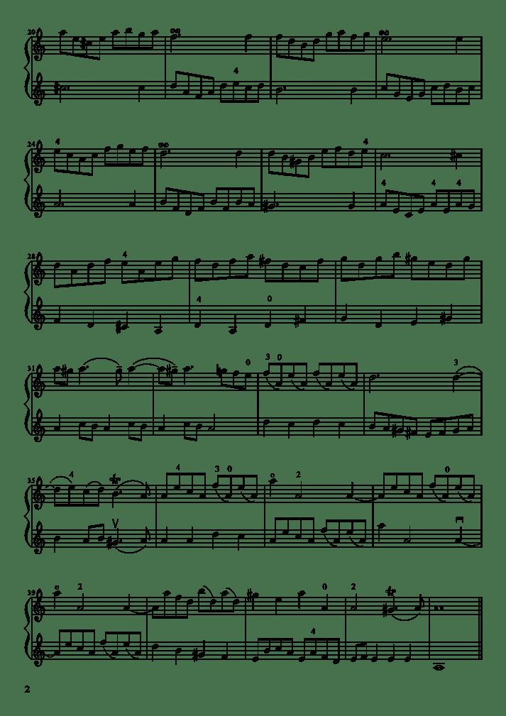 ALBINONI Adagio Prière duo à ma façon-2